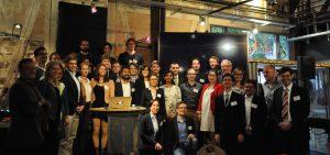 Die Absolventen der 100-Tage-MedTech-Startup School 2016 beim Demo Day in Tübingen